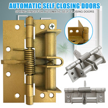 Hot Spring Hinge for Automatic Self Closing Doors Multifunctional Door Closing Hinge XJS789