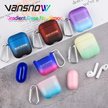 Unique Gradient Protective Case for Apple Airpods Wireless Bluetooth Earphone 2/1 Accessories