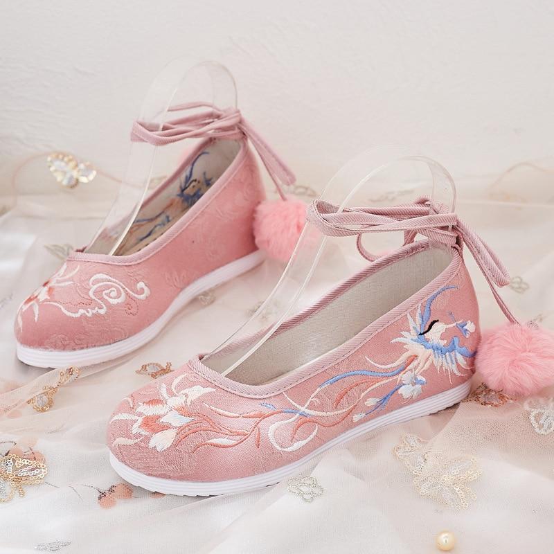 Купить женская теплая хлопковая обувь в стиле «лолита»