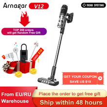 Original Arnagar V12 Handheld Wireless Vacuum Cleaner Portable Cordless Cyclone Hepa Filter Carpet for Home Car Dust Collector