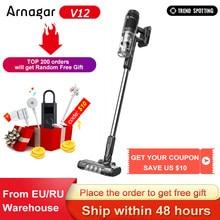 Original Arnagar V12 Handheld Wireless Vacuum Cleaner Portable Cordless Cyclone Hepa Filter Carpet for Home Car Dust Collector