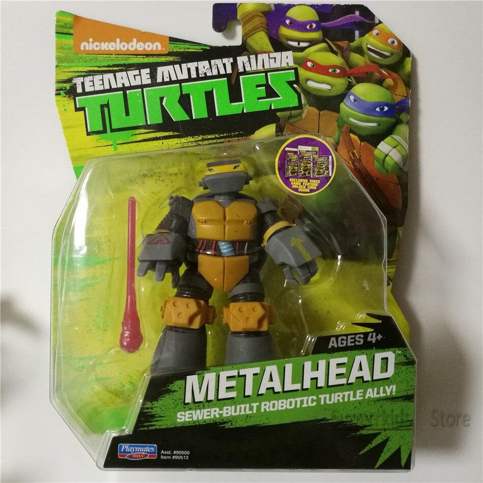 Toys Action-Figures Soldier Metal-Head Turtle Kungfu Mutant Bulk Children Factory
