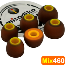 misodiko Mix460 Earbuds Ear Tips Eartips for Jaybird X4 X3 X2, BlueBuds X, Freedom 2, F5/ 1MORE/ Sony MDR XB55AP XB75AP EX650AP