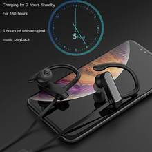 Bluetooth 5.0 Earphone Headphone Wireless Neckband sport headset Bluetooth In Ear For Phone PC VR intelligent voice control(China)