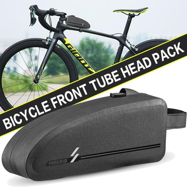 Hot Discount 8f8bf Bicycle Bag Waterproof Top Tube Bag Rainproof Large Capacity Mtb Road Bike Front Frame Bag Cycling Accessories Cicig Co
