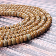 Natural Wood Jade Gem 5x8x4x6MM Abacus Bead Spacer Bead Wheel Bead Accessory For Jewelry Making Diy Bracelet Necklace