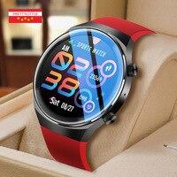 Reloj inteligente ECG para hombre, pulsera deportiva resistente al agua IP67, con Bluetooth, control del ritmo cardíaco y de la presión sanguínea, llamadas, para Android e IOS