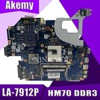 For Acer aspire V3-571G E1-571G Laptop Motherboard NBC1F11001 Q5WVH LA-7912P SJTNV HM70 DDR3 Free CPU