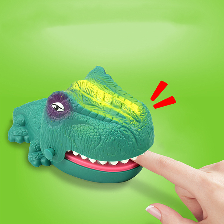 Funny Board Game Toys Crocodile Mouth Dentist Bite Finger Toy Large Crocodile Pulling Teeth Bar Games Toys Kids For Children 4