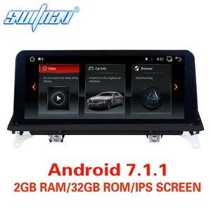 Image 1 - Android 7.1/9.0 รถ DVD สำหรับ BMW X5 E70 BMW X6 E71 เครื่องเล่นมัลติมีเดียสเตอริโอ GPS สเตอริโอ Monitor หน้าจอ IPS CIC CCC ระบบ