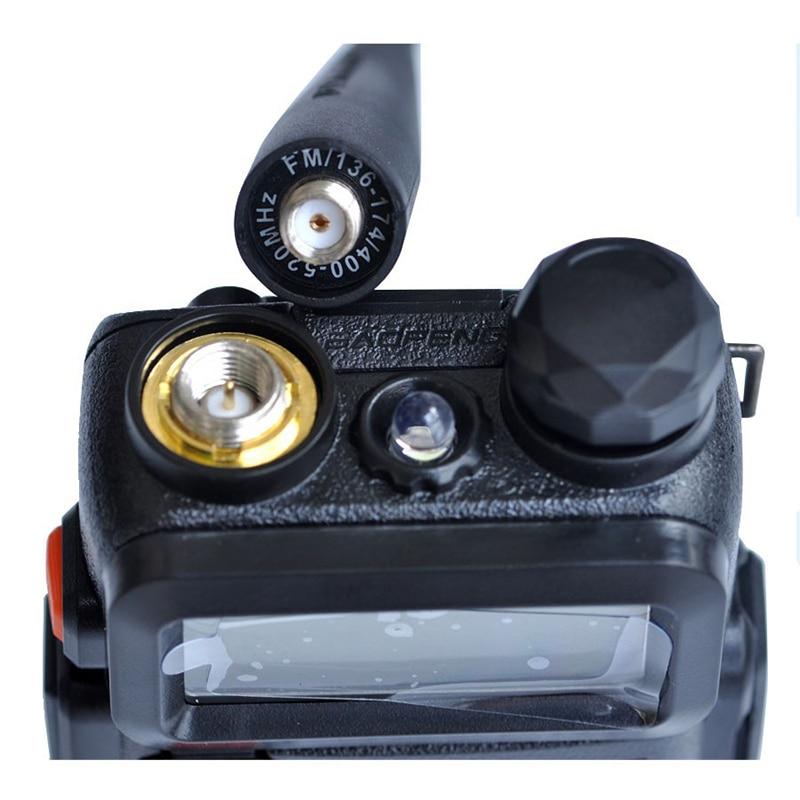 מכונות כביסה ומייבשים עבור Baofeng אנטנה SMA-נקבה UHF / VHF 136-174 / 400-520 MHz עבור UV-5R UV-82 GT3 5R-טוקי אנטנה 17cm הלהקה כפול (5)