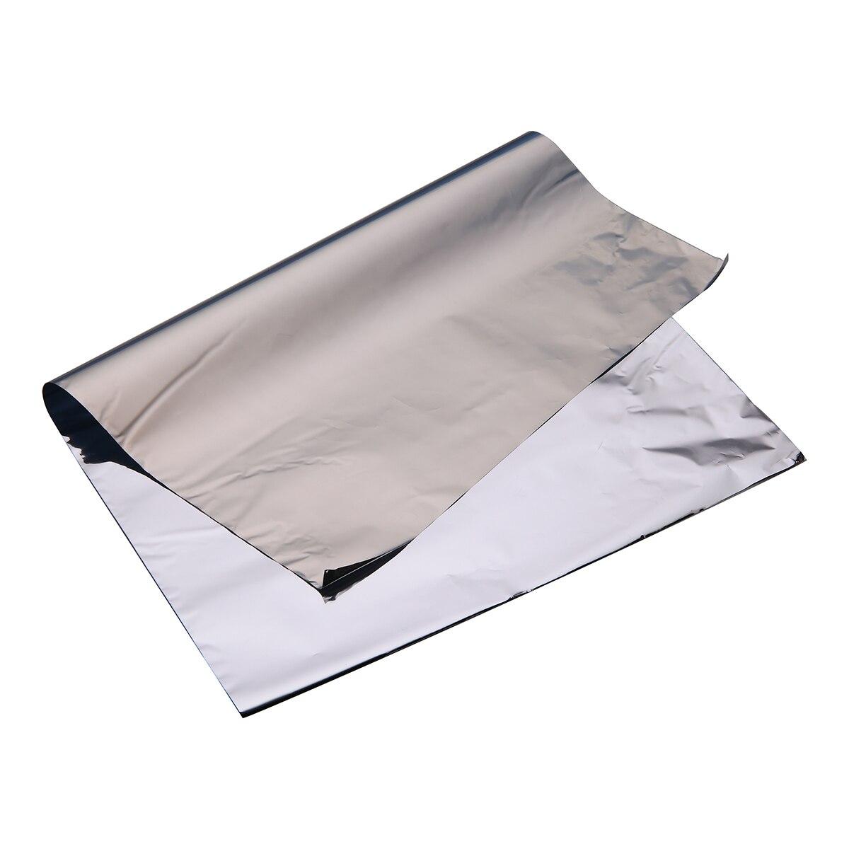 1set/50 Sheets A4 Light Sliver Leaf Foil Paper Leaves For Gilding Decoration DIY Decorative Material Art Work Crafts 210x297mm