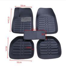 Универсальные автомобильные коврики для Citroen c4 c5 c2 c3 c6 слив C-Quatre/Triomphe Elysee Picasso автомобильные аксессуары для стайлинга автомобилей
