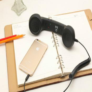 3 5mm Retro Classic telefon komórkowy telefon komórkowy odbiornik dla telefonów komórkowych telefon komórkowy odbiorniki telefoniczne słuchawki słuchawki tanie i dobre opinie lieve CN (pochodzenie)