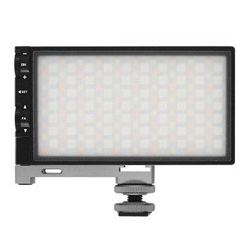 Venta al por menor, RGB 2500K-8500K, luz LED regulable a todo Color para vídeo, fotografía, vídeo, estudio, cámara DSLR, luz PK BOLING BL-P1