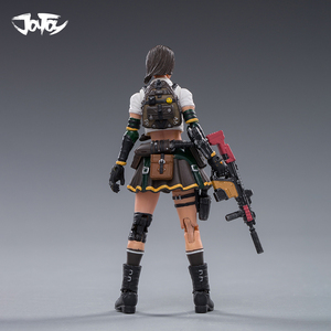 Image 3 - JOYTOY 1/18 CF action figure ZERO and KUI female soldier in game Cross Fire(CF) anime female figures