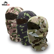 Camouflage Motorcycle Neck Gaiter Cycling Mask Motocross Face Shield Military Tactical Bandana Balaclava Scarf Men Women