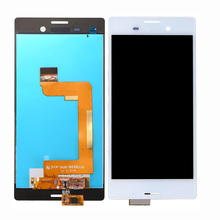 цена на Top quality For Sony Xperia M4 E2333  LCD Display + Touch Screen Digitizer Assembly M4 E2333  Pantalla Replacement single