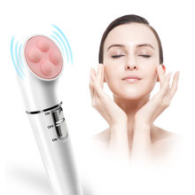 3in1 Electric Epilator Women Hair Removal remover with Epilation Massage Deep Cleaning Face Brush 3 Head facial Skin Care Tools(China)
