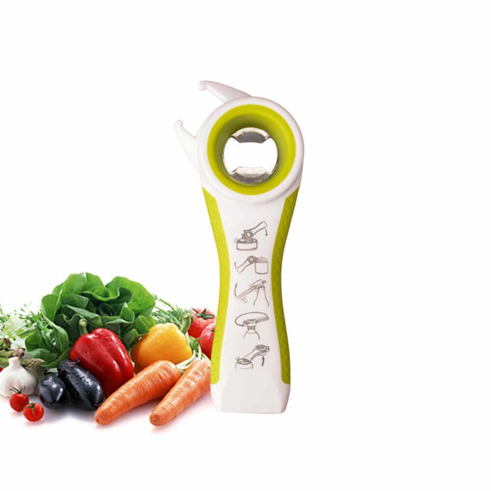1PC ที่มีประโยชน์คุณภาพสูงห้องครัวมัลติฟังก์ชั่ 5 ใน 1 ขวดกระป๋องเปิดคู่มือเครื่องมือ Gadget อุปกรณ์เสริมห้องครัว h5