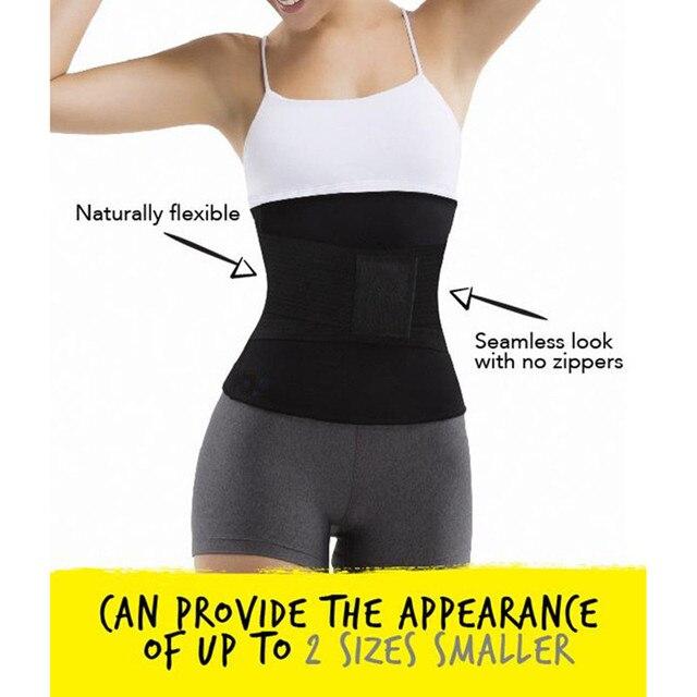 Women 2pcs Seamless Yoga Set Gym Clothing Fitness sweat sauna slimming belt Sport Suit Women Waist Support running Active belts 4