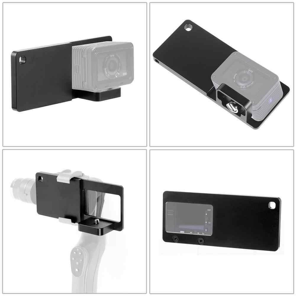 Placa de montaje del conmutador de Estabilizador Cardán De Teléfono Adaptador para Sony Rxo para Session D2J2