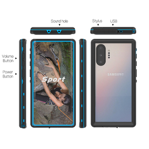 Image 3 - IP68 Water Proof Phone Case For Samsung Galaxy Note 20 10 Plus 9 8 Waterproof Protect Swimming Case For Samsung S9 S10 S20 Ultra
