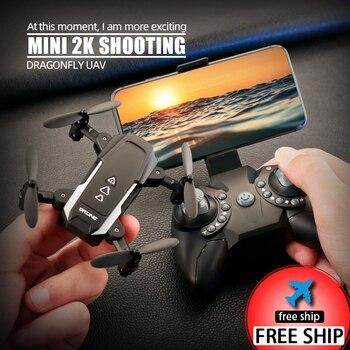 KK8 Dron plegable Mini Drone RC FPV Quadcopter cámara HD Wifi FPV...