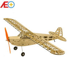 Balsa Wood Airplane Model J3 600mm Wingspan Balsa Wood Laser-cut Airplane Models RC Building Toys Woodiness model /WOOD PLANE new slick 60cc 80cc 91 gasoline radio controlled rc airplane model balsa wood fixed wing plane
