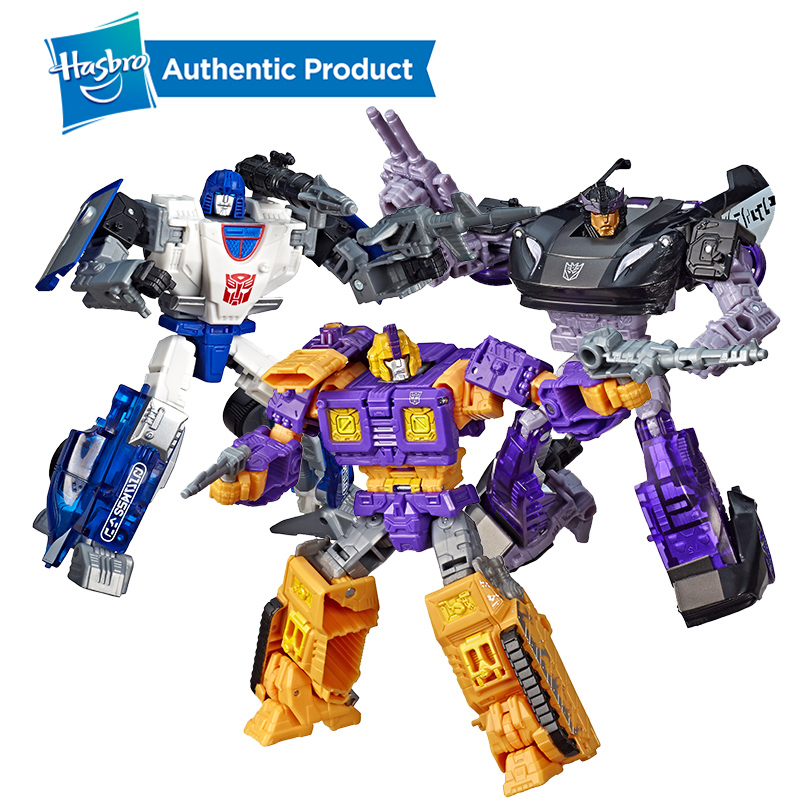 Hasbro Transformers Generations War For Cybertron Deluxe WFC S43 Autobot Barricade Impactor Mirage Figure  Siege Chapter