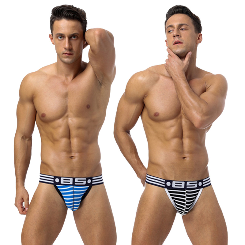 2020 Fashion Men Gay Underwear Men Sexy Jockstrap Men Underwear Men's Gay Bikini Slip Underwear
