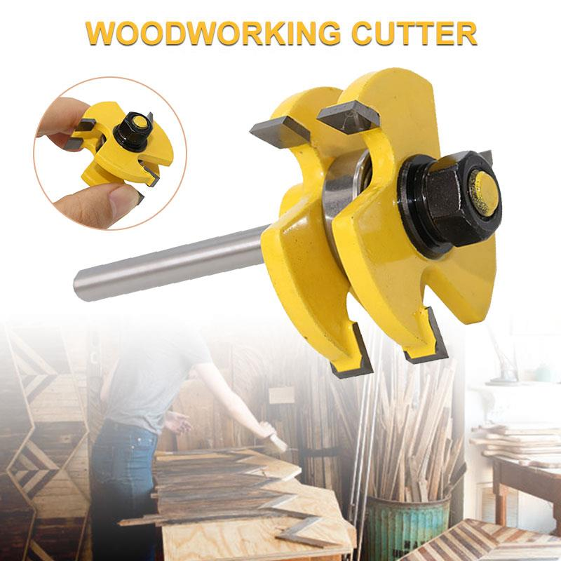 Wood Drilling Milling Woodworking Carbide Alloy Carpenter Milling Cutter Miter Router Bit Accurate Business Accessories Tool