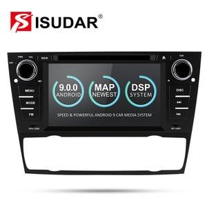 Image 1 - Isudar 2 דין אוטומטי רדיו אנדרואיד 9 עבור BMW/320/328/3 סדרת E90/E91/E92/e93 רכב מולטימדיה וידאו DVD נגן GPS ניווט DVR FM