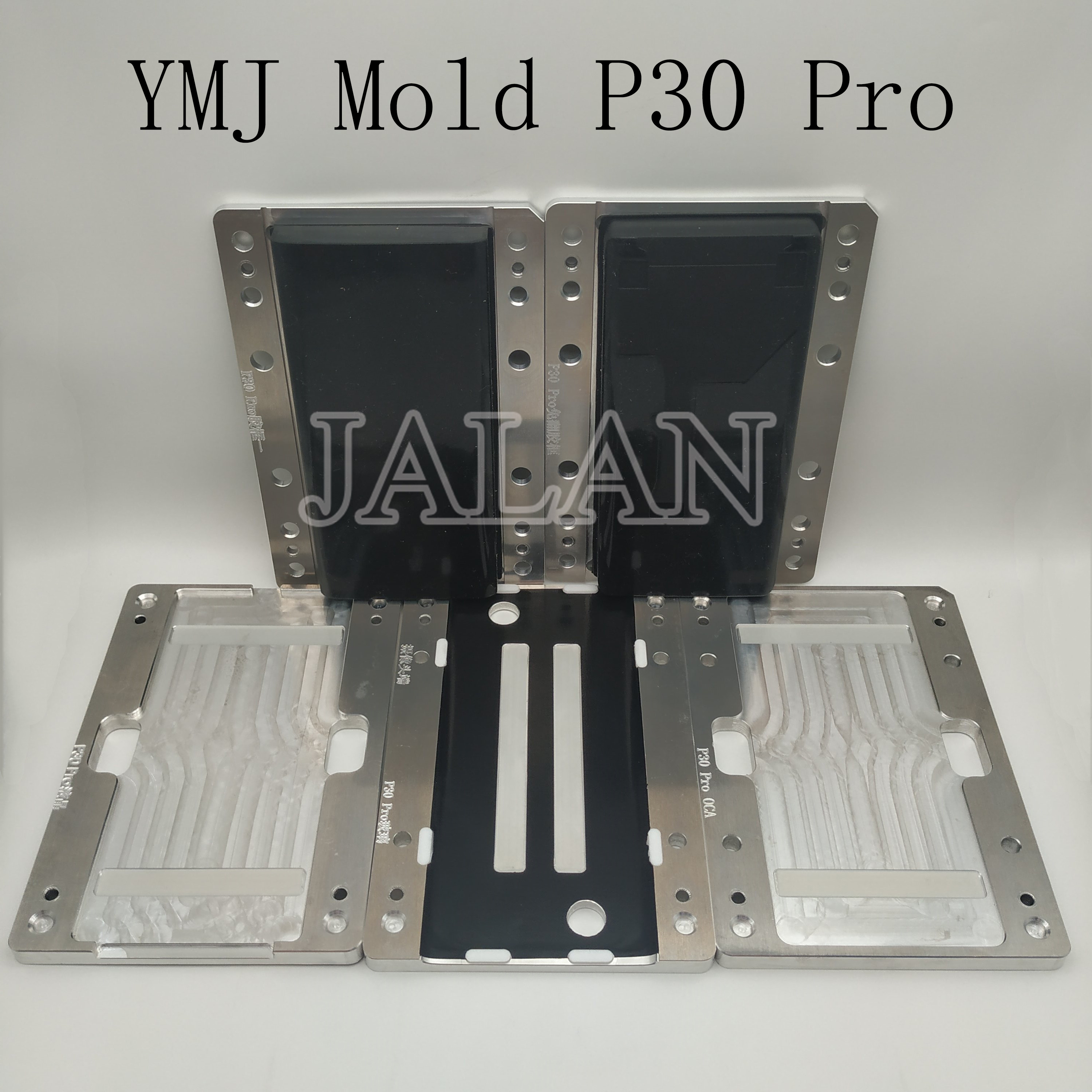 YMJ machine use mold for Huawei P30 Pro lcd display touch screen laminating OCA glass positioning lamination mould