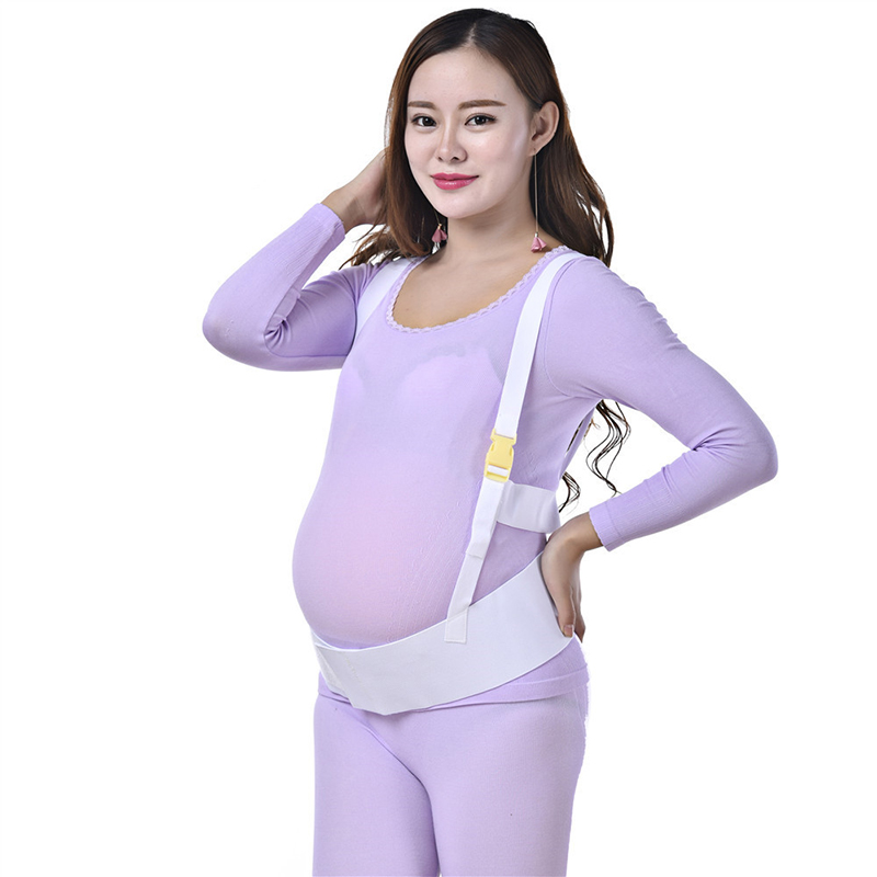 Maternity Belts For Pregnant Women Shoulder-Strap Breathable Light And Thin Strap Prenatal Strengthening Belly Protection