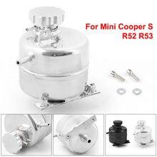 De aluminio de refrigerante Header expansión desbordamiento de tanque de agua y de depósito puede para 02-08 BMW Mini Cooper S R52 R53 TT102083