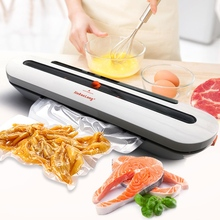 Electric Vacuum Sealer Packaging Machine For Home Kitchen Including 10pcs Food Saver Bags Commercial Vacuum Food Sealing cheap CN(Origin) Eco-Friendly Stocked Bag Clips