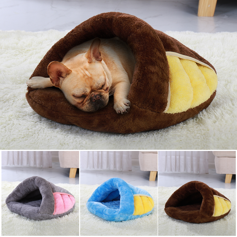 Super Soft Dog Bed House Warm Winter Puppy Cat Sleeping Beds Mat For Cats Small Medium Dogs Pet Supplies S M L