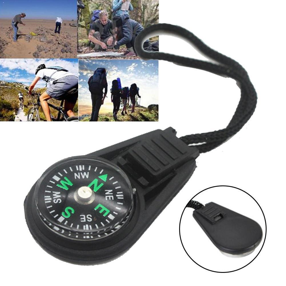 Compass Pendant Backpack-Equipment Small Travel Convenient Camping-Hanging Wrist/survival