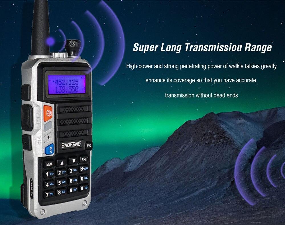portátil cb ham rádio hf fm transceptor atualizar uv 5r