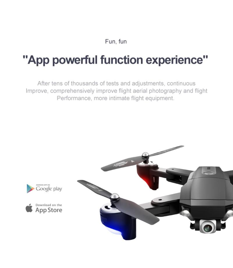 H79ecd0c2ec8a4b44902b537dbe55c9f1M - 2021 New Drone S604 6K 1080P HD Camera WiFi Fpv Flight 30 Minutes Altitude Hold Foldable Quadcopter Automatic Return Drone Gifts