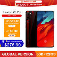 "Original Global Version Lenovo Z6 Pro Snapdragon 855 Octa Core 6.39"" FHD Display Smartphone Rear 48MP Quad Cameras"