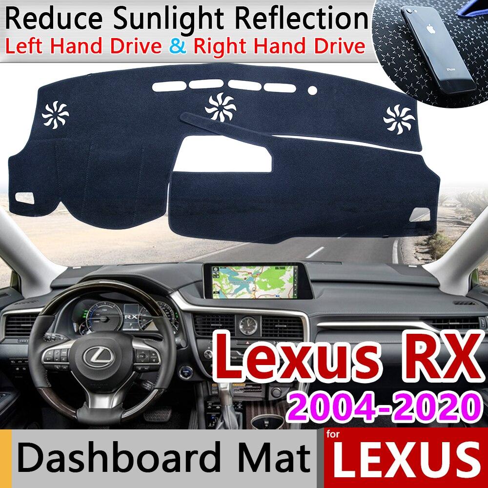 For Lexus RX 2004~2020 RX300 RX330 RX350 RX270 RX200t RX450h 350 Anti-Slip Mat Dashboard Cover Pad Sunshade Dashmat Accessories