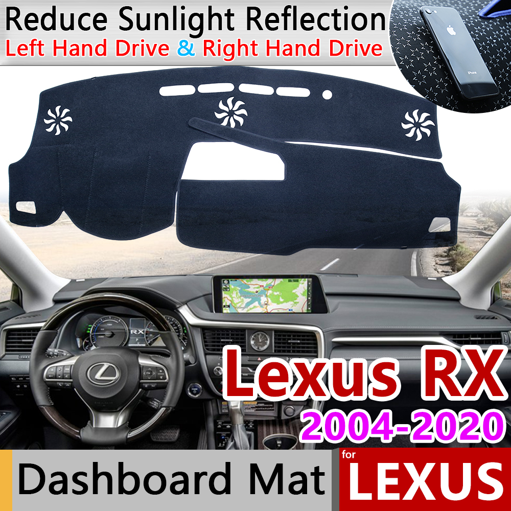 for <font><b>Lexus</b></font> RX 2004~2020 RX300 RX330 <font><b>RX350</b></font> RX270 RX200t RX450h 350 Anti-Slip Mat Dashboard Cover Pad Sunshade Dashmat Accessories image