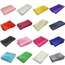 1m x 1.5m tecido de cetim roupas diy costura festa de casamento fundo acessórios para casa cortina mesa pano caixas de presente forro pano