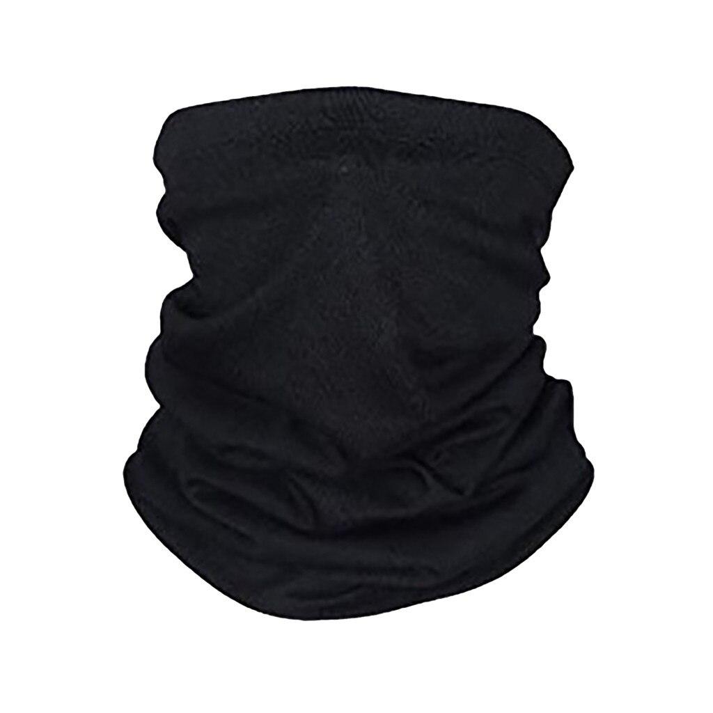 Черная маска для лица, шарф, наружная мотоциклетная маска для рта, ветрозащитная бесшовная многофункциональная спортивная маска для шеи, Пылезащитная маска для верховой езды|Женские маски|   | АлиЭкспресс