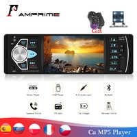 """AMPrime Autoradio 4022D 4.1 """"1 Din Auto Radio Audio Stereo USB AUX FM Stazione Radio Lettore Audio Con Telecomando control Car Audio"""