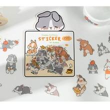 Infeel. Me Girlhood Dagboek Papier Sticker Scrapbooking Decoratie Label 1 Lot = 18 Packs Groothandel