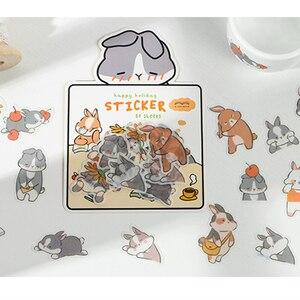 Image 1 - Infeel. me girlhood diário papel adesivo scrapbooking decoração etiqueta 1 lote = 18 pacotes atacado