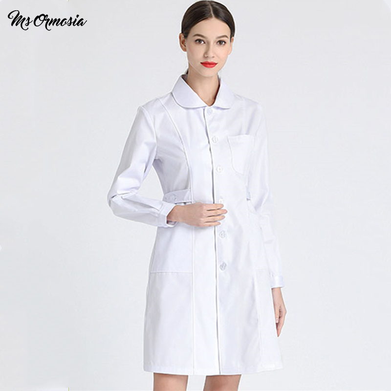NEW Doctors Scrubs Uniforms Print Logo Hospital Nurse Lab Coat Summer White Pharmacy Clinic Workroom Wear Medical Scrubs Clothes